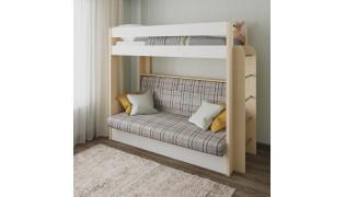 Двухъярусная кровать-диван 33