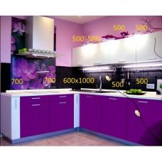 """Кухня  """"Виолетта-10""""  МДФ"""