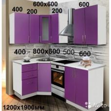 """Кухня  """"Виолетта-6""""  МДФ"""