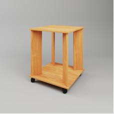 Журнальный стол 17 на колесиках