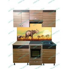 Кухня Зебрано 05