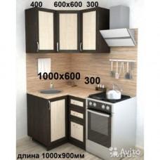 Кухонный гарнитур Ария - мини угловая в рамке мдф