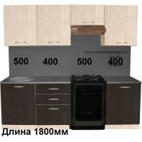 "Кухня  ""Венге+ Белый Дуб-2"""