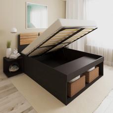 Кровать 100 на подъемном механизме