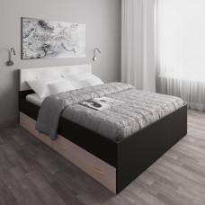 Кровать 119 с ящиками и мягкой накладкой