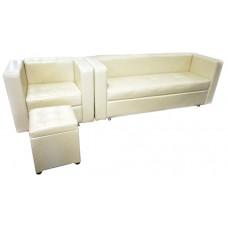 Комплект: диван+кресло+пуф №603