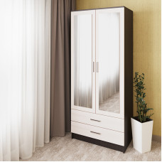 Распашной шкаф 03 c зеркалами