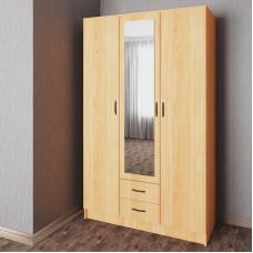 Распашной шкаф 11 с зеркалом