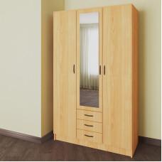 Распашной шкаф 13 с зеркалом