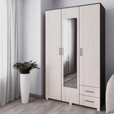 Распашной шкаф 091 с зеркалом
