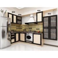 Кухня Ария-5 в рамке МДФ