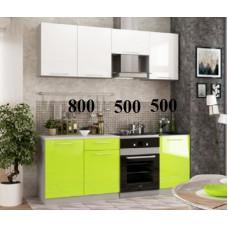 """Кухня, модель """"МДФ-Малибу-1-Лимпо"""""""