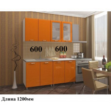 "Кухня, модель ""Мдф-Оранж-15"""
