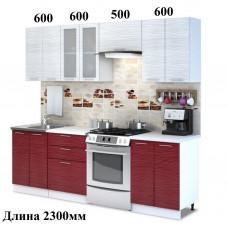 """Кухня, модель """"МДФ-Страйп-2"""""""