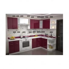 Кухня, модель Брусника-1 МДФ
