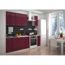 Кухня, модель Брусника-3 МДФ