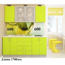 """Кухня, модель """"МДФ-Лимпо-4"""""""