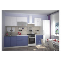 Кухня, модель Штормовое море-2 МДФ