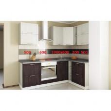 Кухня, модель Венге+бел-2.дуб  МДФ