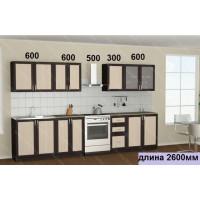 """Кухня  """"Ария-10"""" в рамке мдф"""