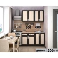 """Кухня  """"Ария-мини-2"""" в рамке мдф"""